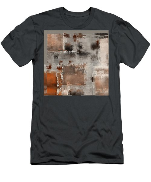 Industrial Abstract - 01t02 Men's T-Shirt (Slim Fit) by Variance Collections