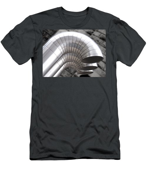 Industrial Air Ducts Men's T-Shirt (Athletic Fit)