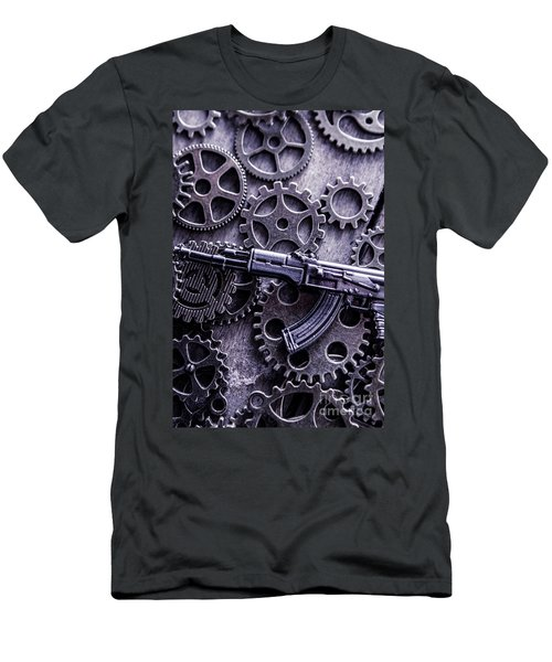 Industrial Firearms  Men's T-Shirt (Athletic Fit)