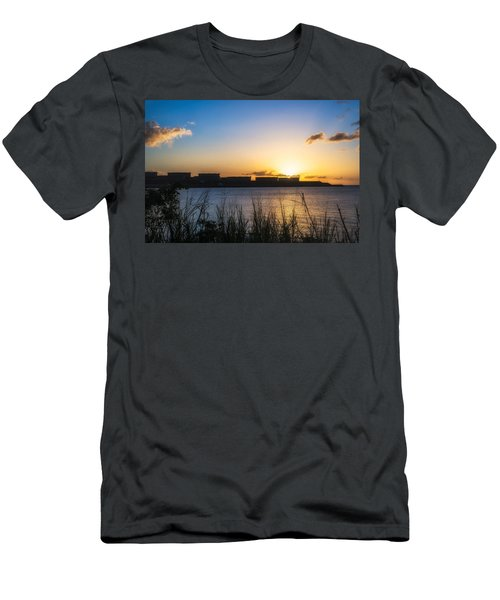 Industrial Sunset Men's T-Shirt (Athletic Fit)