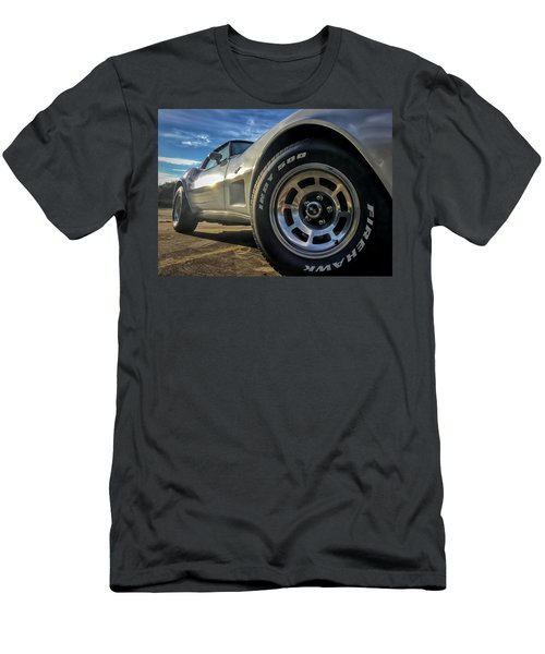 Indy 500 Color Men's T-Shirt (Athletic Fit)