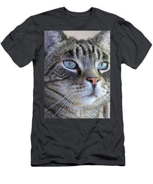 Indy Sq. Men's T-Shirt (Slim Fit) by Vivian Krug Cotton