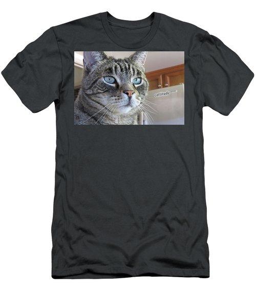 Indy Men's T-Shirt (Slim Fit) by Vivian Krug Cotton
