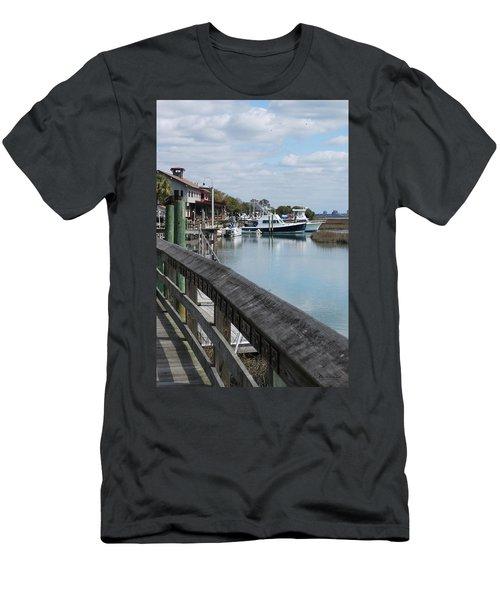 Inlet Fishing Fleet Men's T-Shirt (Athletic Fit)