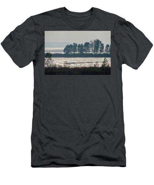 Inlet On Lake Michigan Men's T-Shirt (Athletic Fit)