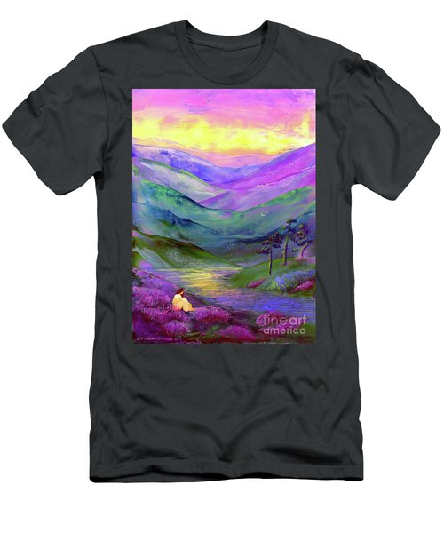 Inner Flame, Meditation Men's T-Shirt (Athletic Fit)