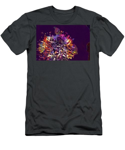 Men's T-Shirt (Athletic Fit) featuring the digital art Insect Bug Bee Beetle  by PixBreak Art