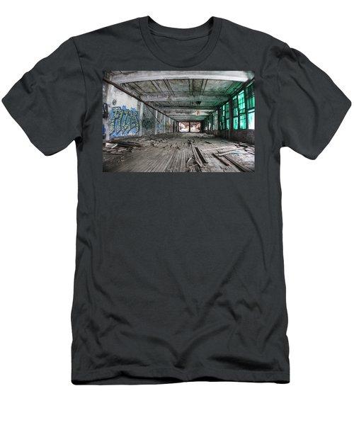 Inside Detroit Packard Plant  Men's T-Shirt (Athletic Fit)