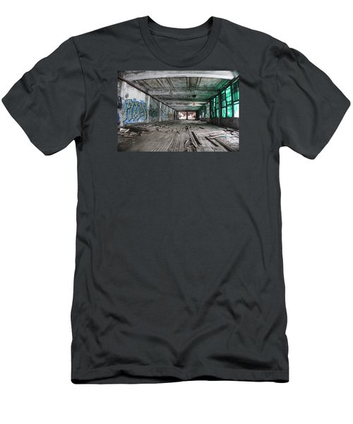 Inside Detroit Packard Plant  Men's T-Shirt (Athletic Fit)