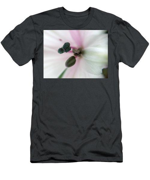 Inside Macro Tulip  Men's T-Shirt (Athletic Fit)