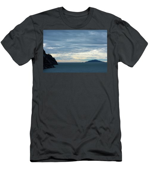 Inside Passage Sunset Men's T-Shirt (Athletic Fit)