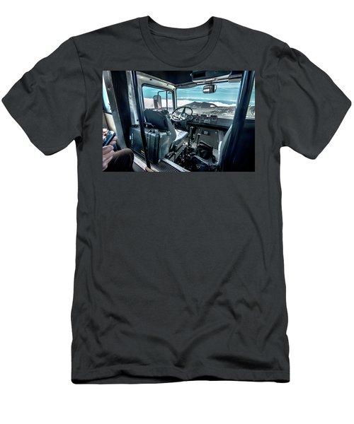 Inside The Etna Tour Unimog Men's T-Shirt (Slim Fit) by Patrick Boening
