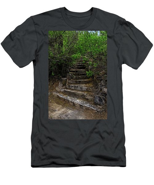 Men's T-Shirt (Athletic Fit) featuring the photograph Instep With Nature V53 by Mark Myhaver