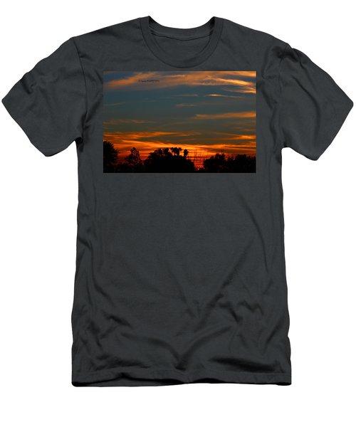 Intense Sky Men's T-Shirt (Athletic Fit)