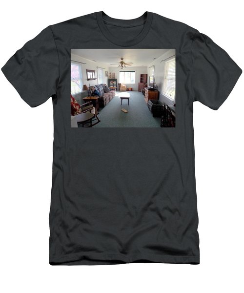 Interior Living Room Men's T-Shirt (Athletic Fit)