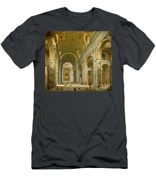 Interior Of St. Peter's - Rome Men's T-Shirt (Athletic Fit)