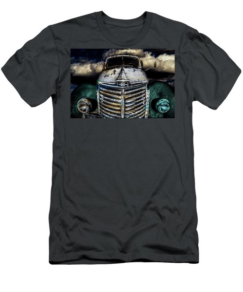 Men's T-Shirt (Athletic Fit) featuring the photograph International Truck 6 by Michael Arend