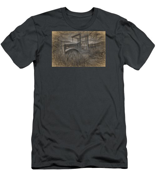International Truck Skeleton Men's T-Shirt (Athletic Fit)