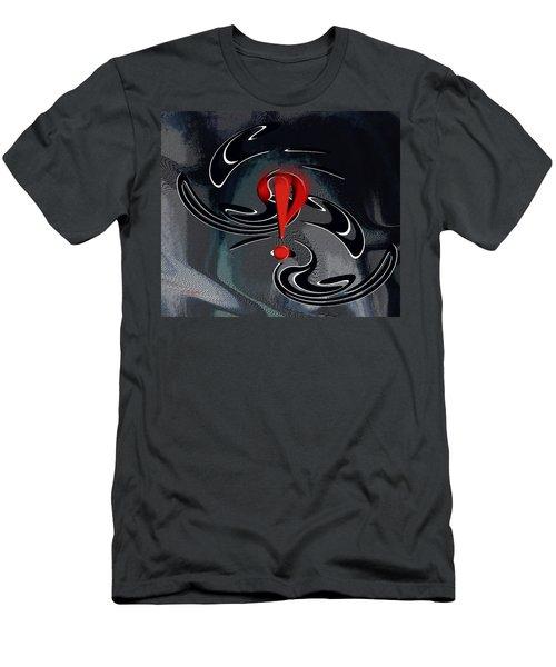 Interrobang First Men's T-Shirt (Athletic Fit)