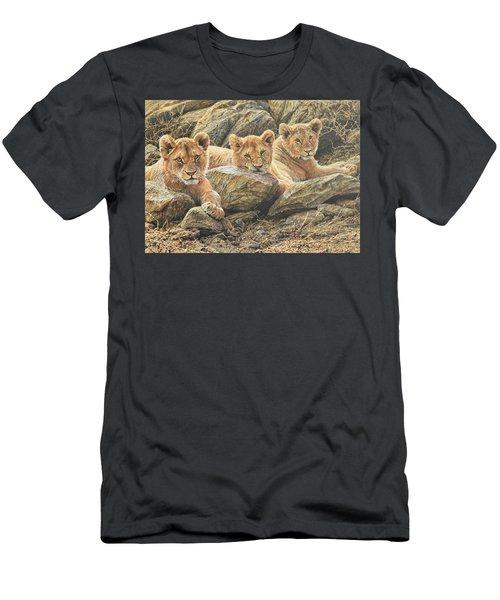 Interrupted Cat Nap Men's T-Shirt (Athletic Fit)