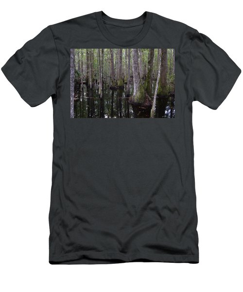 Into The Cypress Swamp Men's T-Shirt (Athletic Fit)