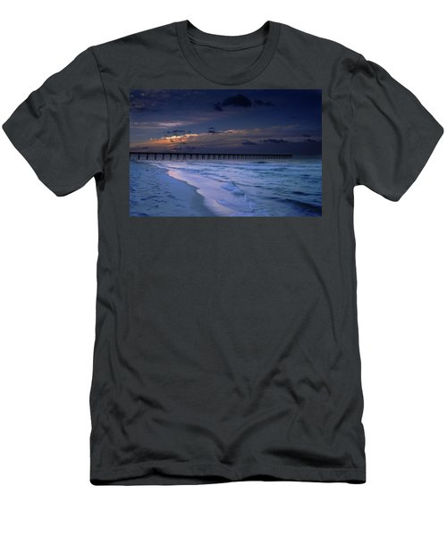 Into The Night Men's T-Shirt (Slim Fit) by Renee Hardison