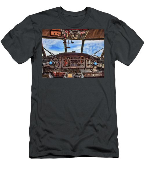 Into The Wild Blue Men's T-Shirt (Athletic Fit)