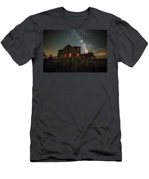 Men's T-Shirt (Slim Fit) featuring the photograph Invasion by Aaron J Groen