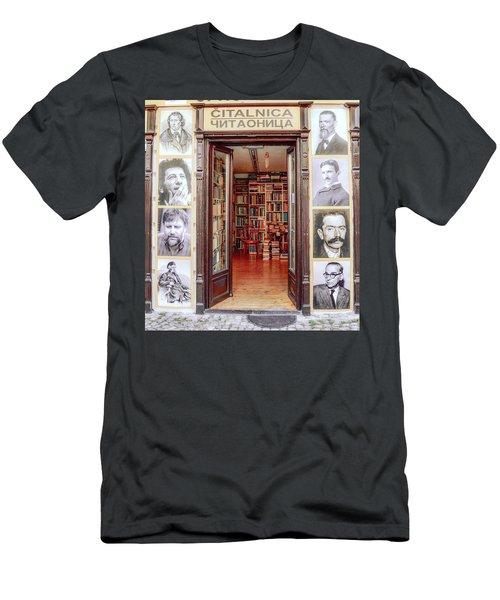 Invitation Men's T-Shirt (Athletic Fit)