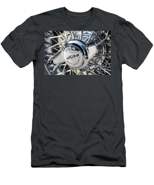 Men's T-Shirt (Slim Fit) featuring the photograph Wire Wheel  by Dennis Hedberg