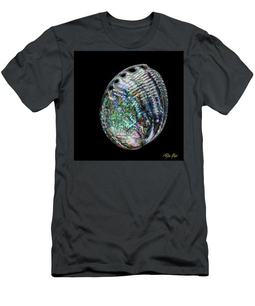 Men's T-Shirt (Athletic Fit) featuring the photograph Iridescence On The Half-shell by Rikk Flohr