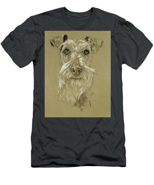Irish Terrier Men's T-Shirt (Athletic Fit)