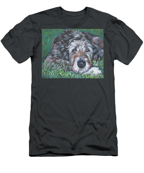Irish Wolfhound Men's T-Shirt (Athletic Fit)