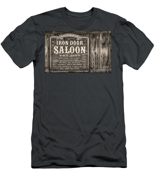 Iron Door Saloon 1852 Men's T-Shirt (Athletic Fit)