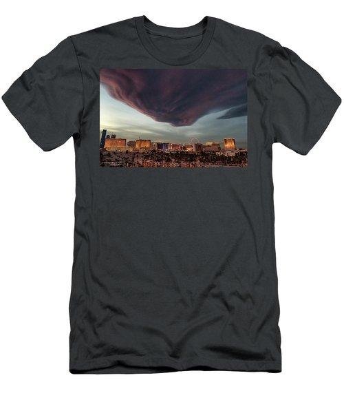 Iron Maiden Las Vegas Men's T-Shirt (Athletic Fit)
