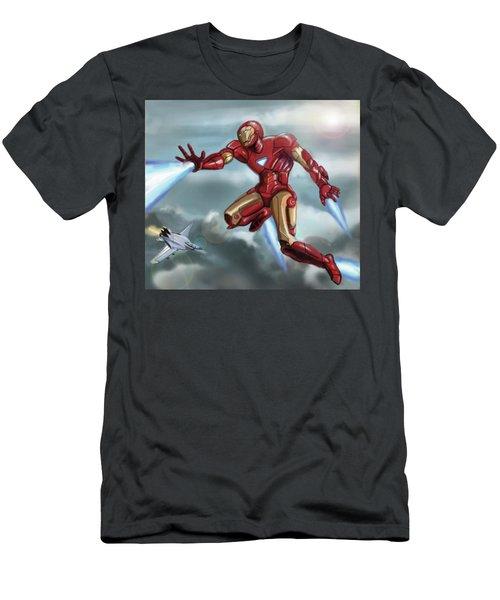 Iron Man Men's T-Shirt (Athletic Fit)