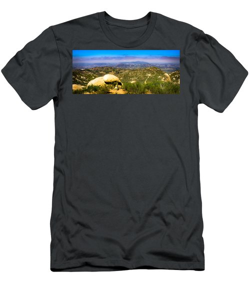 Iron Mountain View Men's T-Shirt (Athletic Fit)