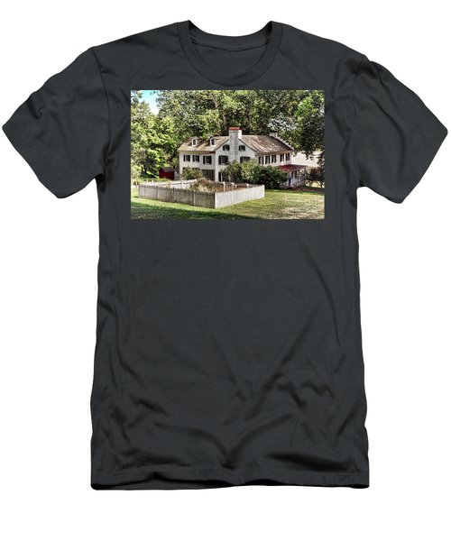 Ironmaster Mansion At Hopewell Furnace  Men's T-Shirt (Athletic Fit)