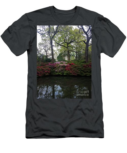 Men's T-Shirt (Slim Fit) featuring the photograph Isabella Plantation by Hanza Turgul