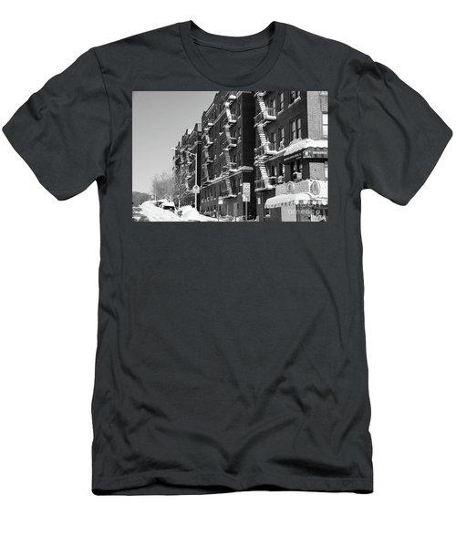 Isham Street Winter Men's T-Shirt (Athletic Fit)
