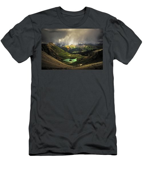 Island Lake Men's T-Shirt (Athletic Fit)