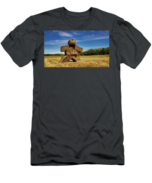 Island Strawman Men's T-Shirt (Athletic Fit)