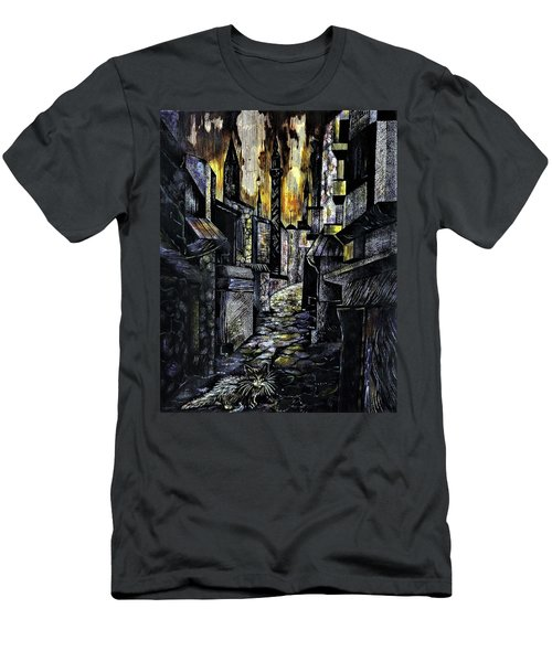 Istanbul Impressions. Lost In The City. Men's T-Shirt (Athletic Fit)