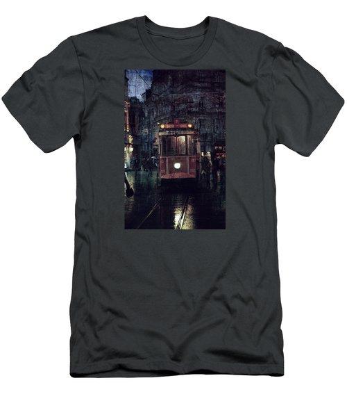 Istanbul Men's T-Shirt (Slim Fit) by Vittorio Chiampan