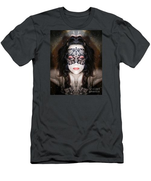 Men's T-Shirt (Slim Fit) featuring the photograph It Is Possible by Heather King