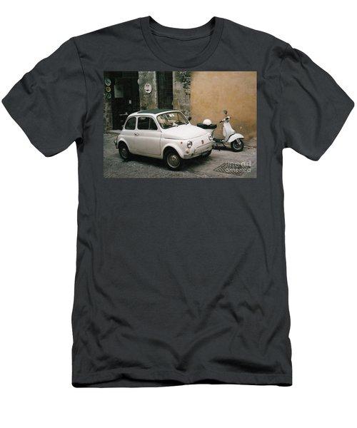Italian Classic Commute  Men's T-Shirt (Athletic Fit)