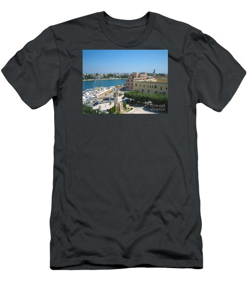 Italian Harbor- Brindisi, Apulia Men's T-Shirt (Athletic Fit)