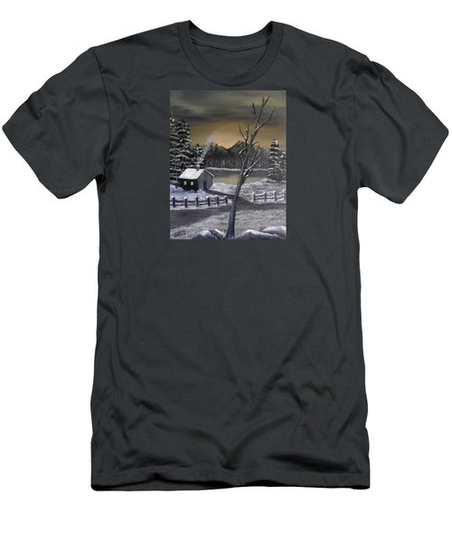 It's Cold Outside Men's T-Shirt (Slim Fit) by Sheri Keith