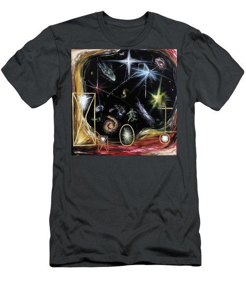It's Full Of Stars  Men's T-Shirt (Slim Fit) by Ryan Demaree