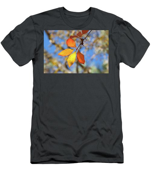 Men's T-Shirt (Slim Fit) featuring the photograph It's Time To Change by Linda Unger
